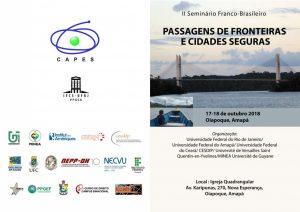 [2018] II Seminário Franco-Brasileiro: Passagens de Fronteiras e Cidades Seguras