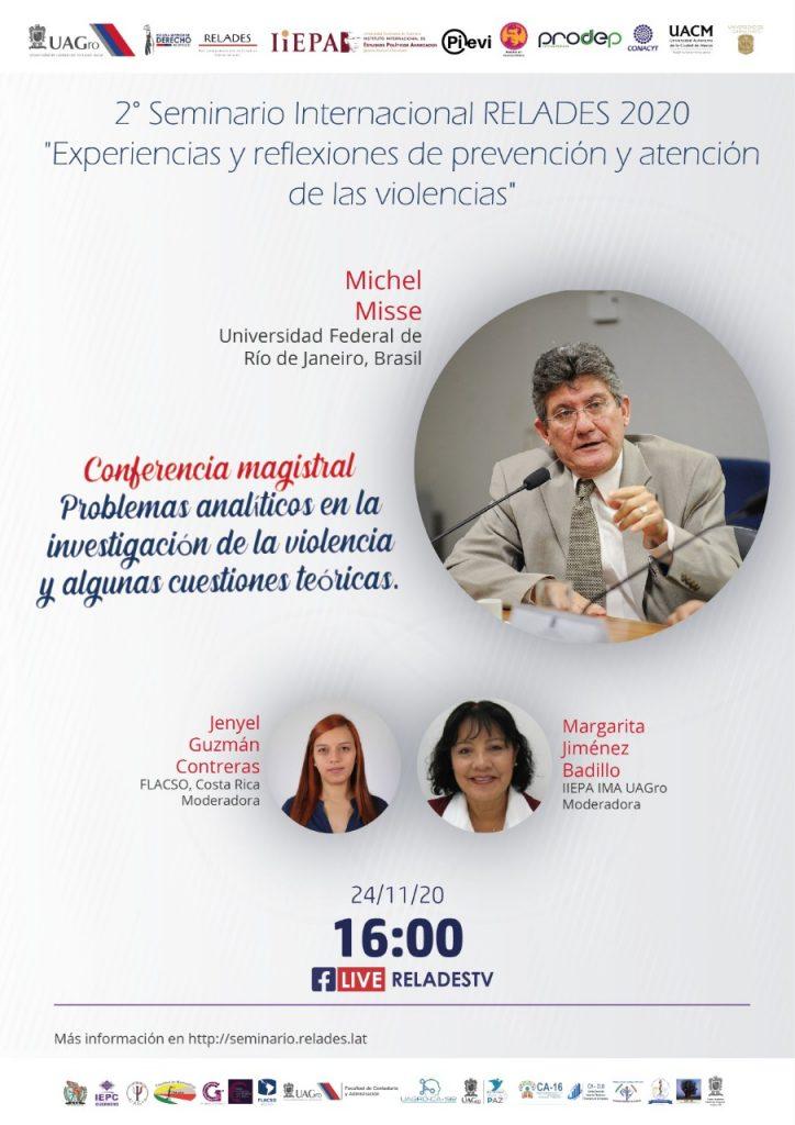 """RELADES 2020 """"Experiencias y reflexiones de prevención y atención de las violencias"""""""