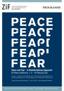 [2021] Peace and Fear – A Multidisciplinary Approach